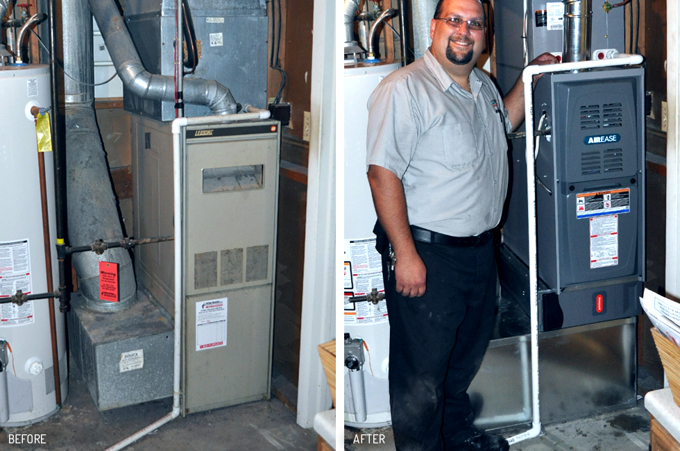 PREMIUM FURNANCE BEFORE & AFTER