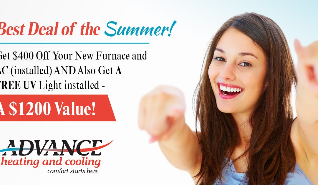 BEST HVAC DEAL OF THE SUMMER